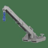 Met de VIAVAC CraneArm op een heftruck en de CladBoy compact kunt u binnenwanden gemakkelijk monteren