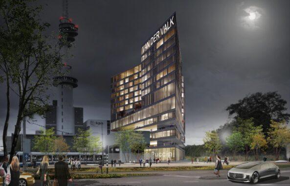 Van der Valk hotel Zuidas concept gerealiseerd met GBX